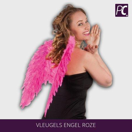Vleugels engel roze