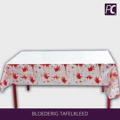 Bloederig tafelkleed