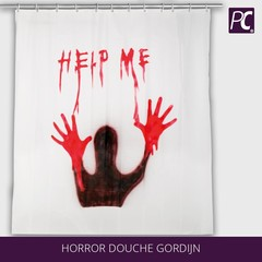 Horror douche gordijn