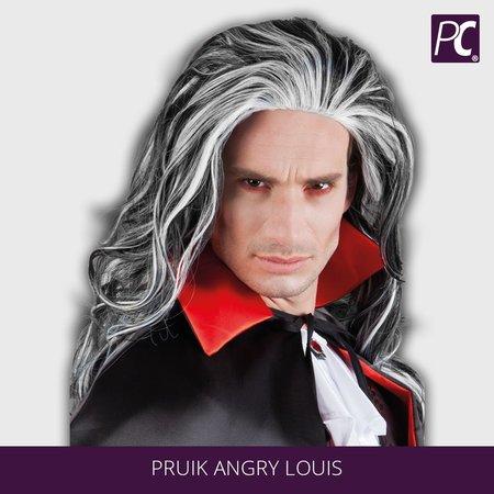 Pruik Angry Louis heren