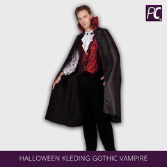 Halloween kleding gothic vampire