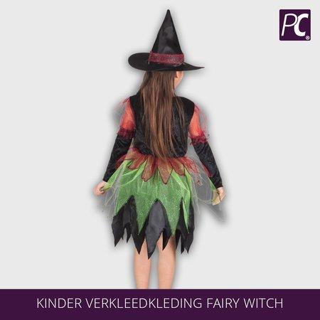 Kinder verkleedkleding fairy witch
