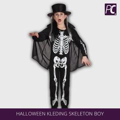 Halloween kleding skeleton boy