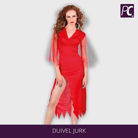 Duivel jurk hot devil