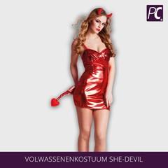 Volwassenenkostuum She-devil