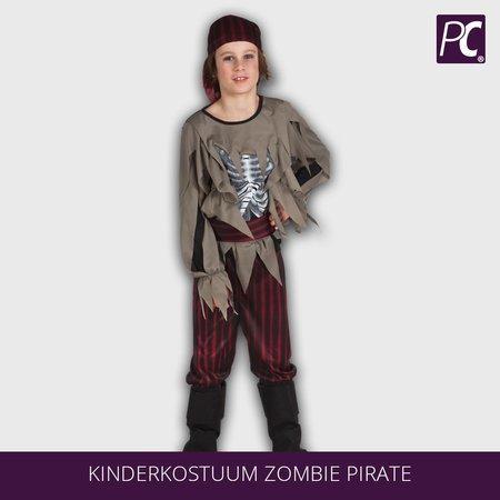 Zombie piraat kostuum voor jongens