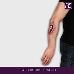 Latex Botbreuk wond
