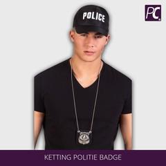 Ketting Politie badge