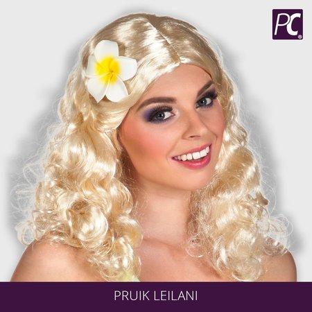 Pruik Leilani in 3 kleuren