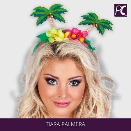 Haaraccessoires Bloemen Tiara Palmera