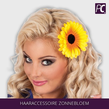 Haaraccessoire Zonnebloem clip