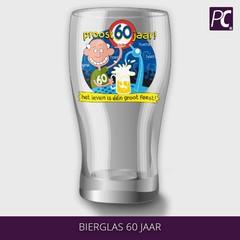 Bierglas 60 jaar