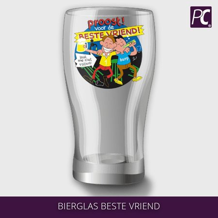 Bierglas beste vriend