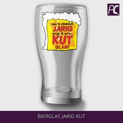 Bierglas Jarig kut