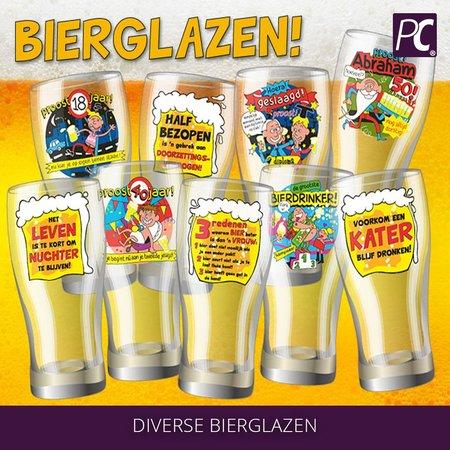 Bierglas kater