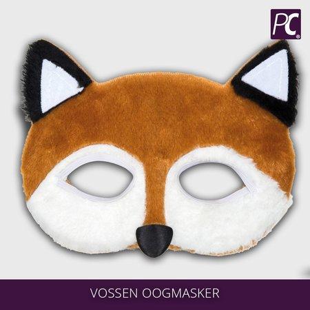 Pluche vossen oogmasker