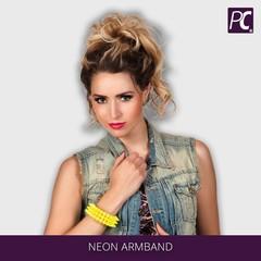 Neon armband