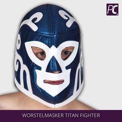 Worstelmasker Titan Fighter