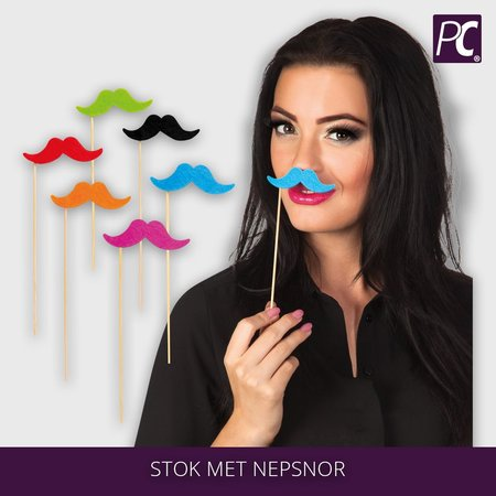 Stok met nepsnor set