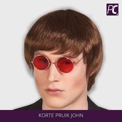 Korte pruik John Lennon
