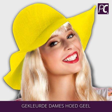 Gekleurde dames hoed