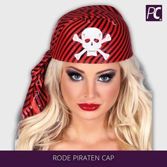 Rode piraten cap