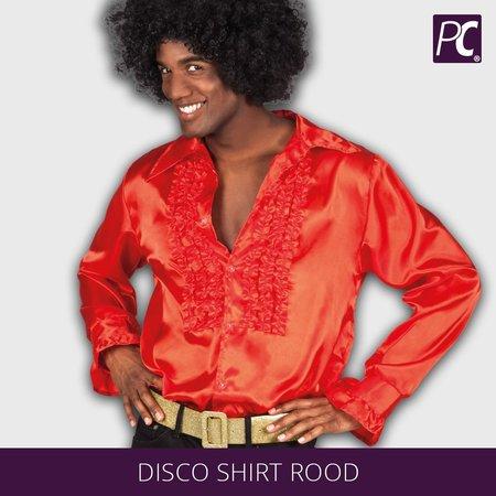 Disco shirt rood