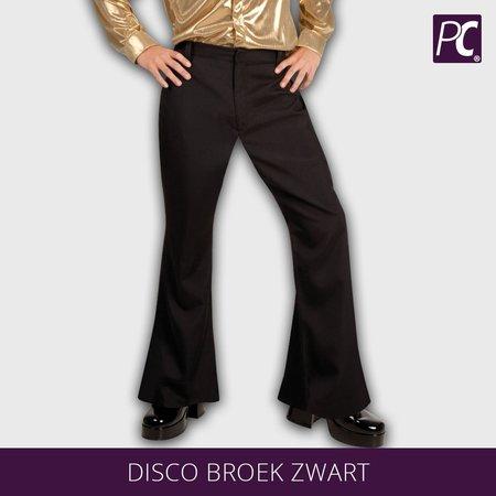 Disco broek zwart