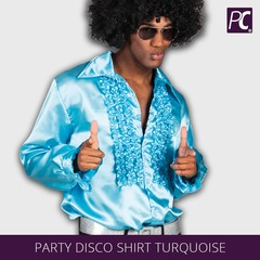 Party Disco shirt turquoise