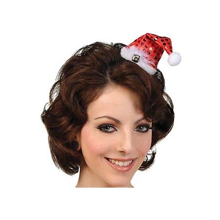 Kerstmuts haarclip