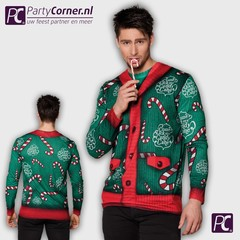 Fotorealistisch shirt kerst Candy cane
