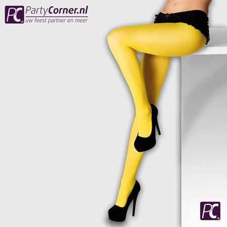 Gele panty