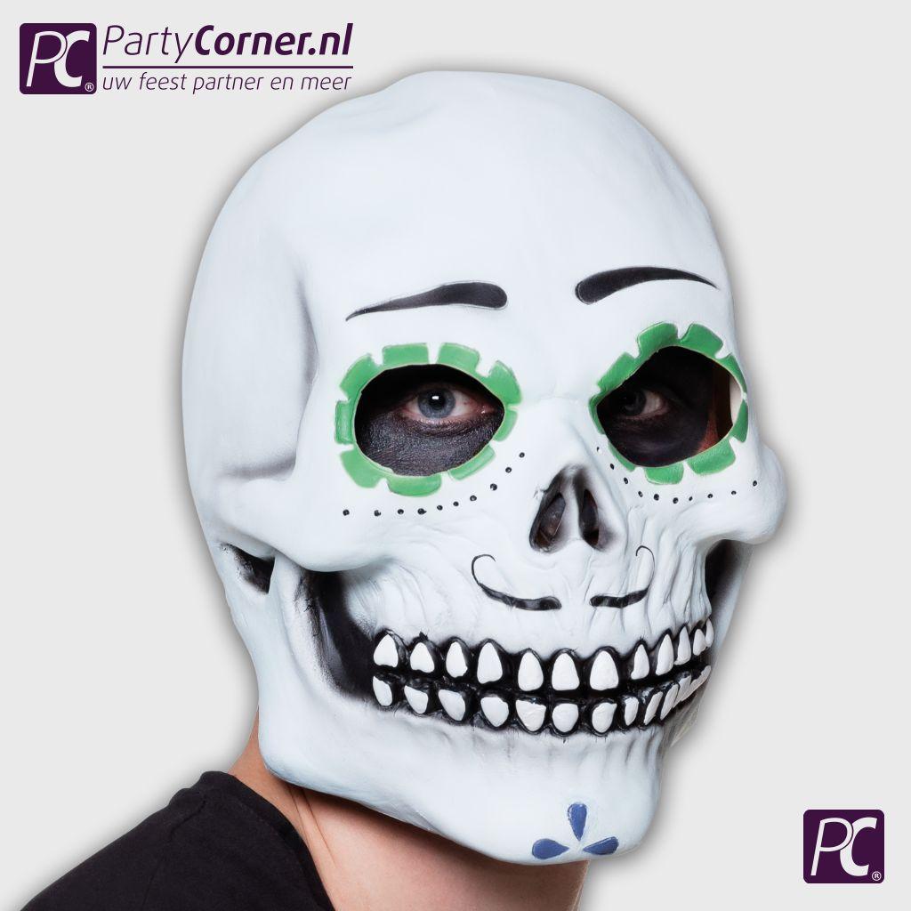Latex Masker Senor Calavera Partycornernl