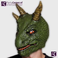 latex masker Dinosaurus