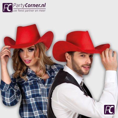 Rode cowboyhoed