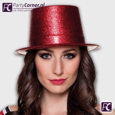 Toppers glitter hoeden