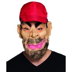Latex gezichtsmasker Trucker met pet