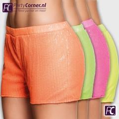 Neon hotpants