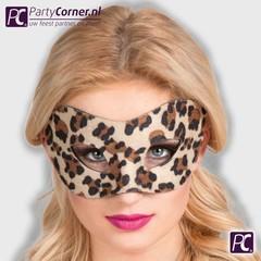 Luipaard masker