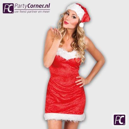 Kerst jurkje kerstvrouw luxe