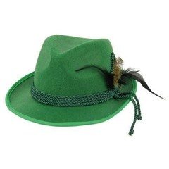 Groene Tiroler hoedje Hans