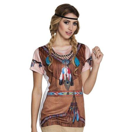 Fotorealistische Toppers indianen shirt