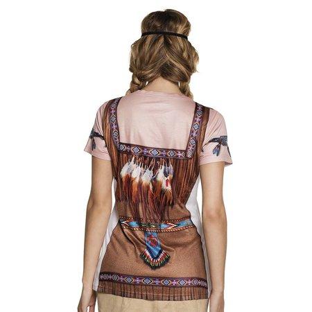 Fotorealistische  indianen shirt