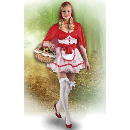 Goedkope Roodkapje kostuum dames