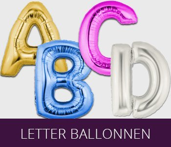 Folie Letter ballonnen