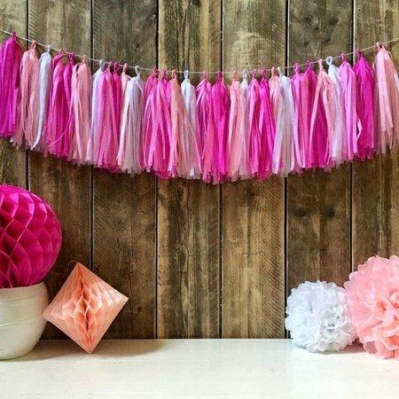 Tassel slinger roze kopen
