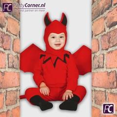 Verkleedkleding duivels baby
