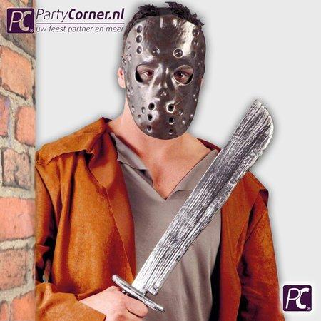 Jason masker en machete