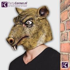 Ratten latex masker