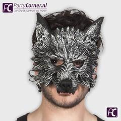 latex weerwolf half masker